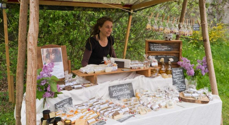 Seifengarten Marktstand von Katja Lützkendorf