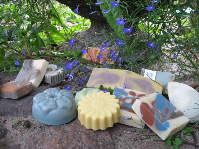 Seifengarten Naturseifen - Formen und Farben