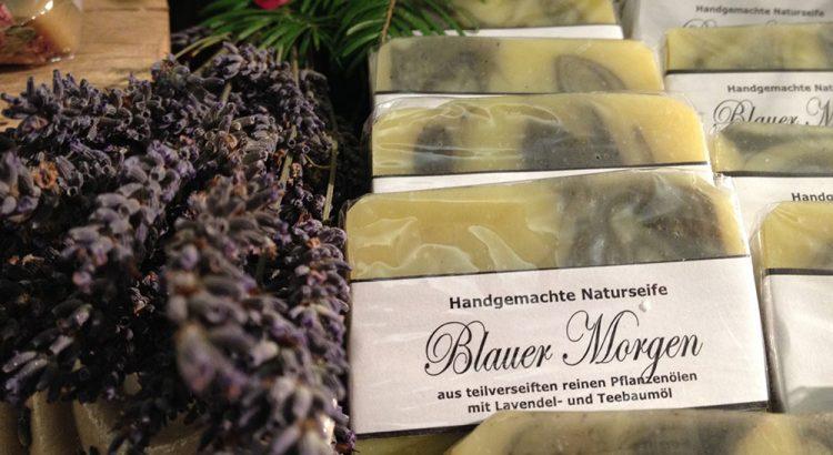 Seifengarten Naturseifen - Blauer Morgen mit Lavendel