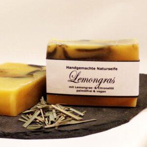 palmölfreie Naturseife Lemongras