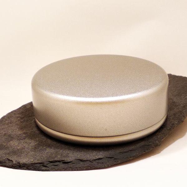 Seifendose aus Weißblech - Rund geschlossen